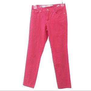 3/$25 Fabrizio Gianni coral pink jeans size 4